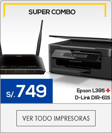 impresora + router