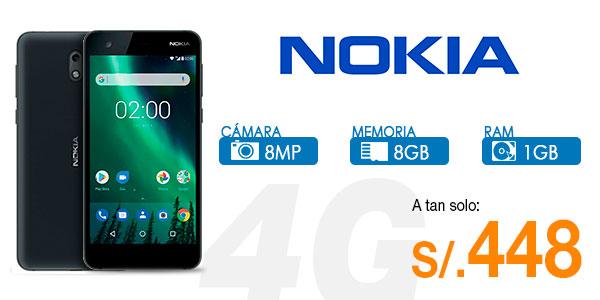 smartphone nokia hd lte dual sim y  desbloqueado