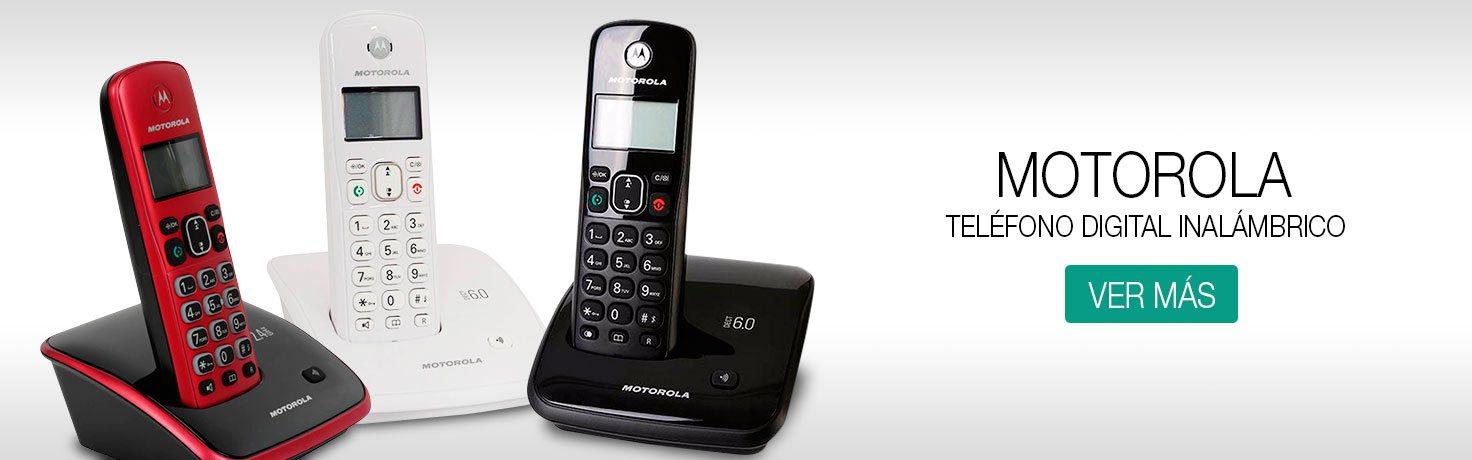 Telefonos inalambricos Motorola - Loginstore