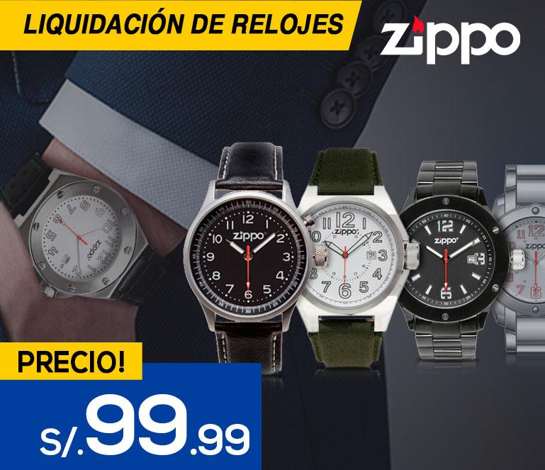 relojes zippo - Loginstore.com